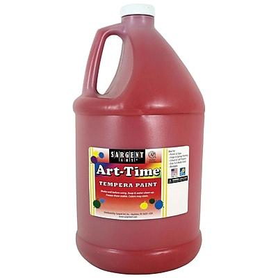 Sargent Art® Art-Time® Gallon Liquid Tempera Paints, Red