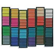 Sargent Art Square Chalk Pastels, 24 Assorted Colors, 144 ct. (SAR221144)