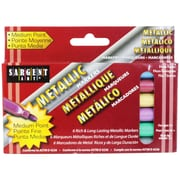 Sargent Art® Liquid Metals® Metallic Markers, 6/Pack
