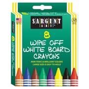 Sargent Art® Standard Regular Whiteboard Crayon, 8/Box (SAR350521)