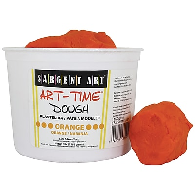Sargent Art® Art Time® Dough, 3lb. Orange