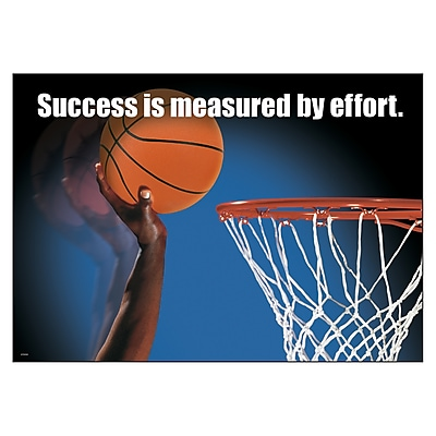 Trend ARGUS Poster, Success is measured by effort.