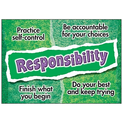 Responsibility ARGUS® Poster