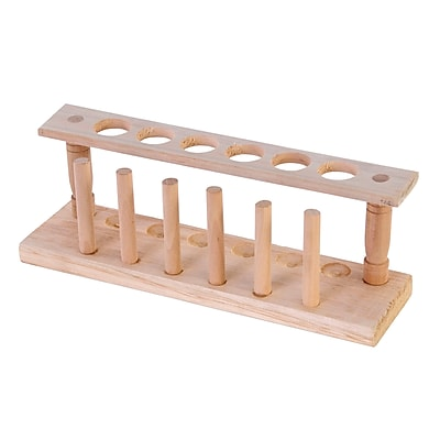 American Educational Products® Wooden Test Tube Rack, Grades 2 - 12 (AEP71406)