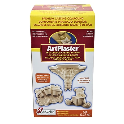 Activa® Modeling Compounds Art Plaster, 2 EA/BD