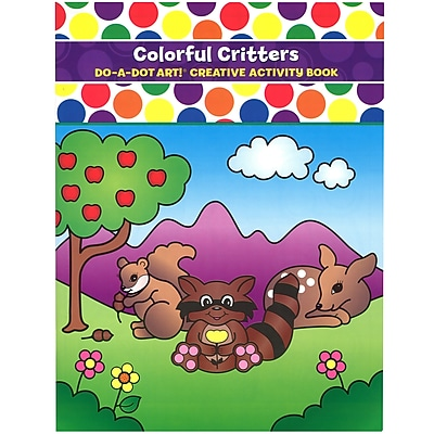 Do•A•Dot Art!™ Creative Activity Book, Colorful Critters, 24 pages