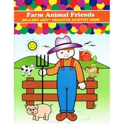 Do•A•Dot Art™ Creative Activity Book, Farm Animal Friends, 24 pages