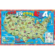 Our Big Cool USA Poster Map