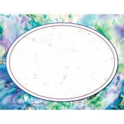 "Purple Marble/Oval Border Certificate, 8-1/2"" x 11"", 50/pkg"