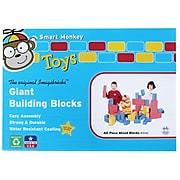 Smart Monkey Toys ImagiBRICKS Giant Building Block Set, 40/Set (IMA1040)