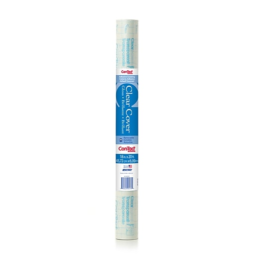 """Contact 18"""" x 20 ft Clear, Adhesive Roll (KIT20FC9AD72)"""