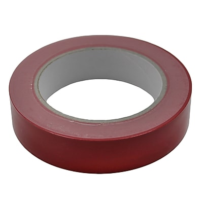 Martin Sports® Equipment Floor Marking Tape, Red, 2/Bd