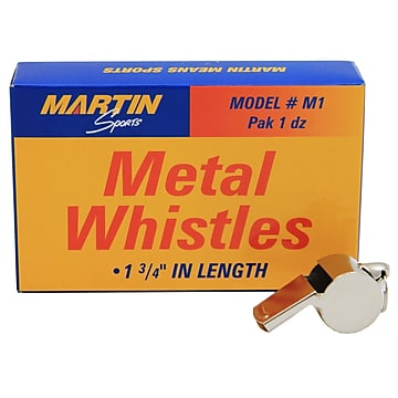 Martin Sports Equipment Whistle, Metal (MASM1)