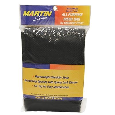 Martin Sports® All Purpose Bag, Black, 2 EA/BD