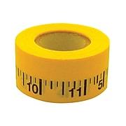 "Mavalus® 1"" x 360"" Measuring Tape, Yellow, 4 RL/BD"