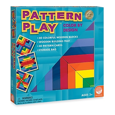 MindWare® Critical Thinking Games, Pattern Play