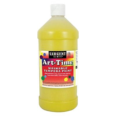 Sargent Art® Art-Time® 32 oz. Washable Tempera Paints, Yellow