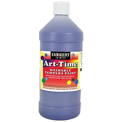 Sargent Art® Art-Time® 32 oz. Washable Tempera Paints, Violet