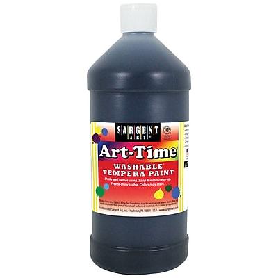 Sargent Art® Art-Time® 32 oz. Washable Tempera Paints, Black