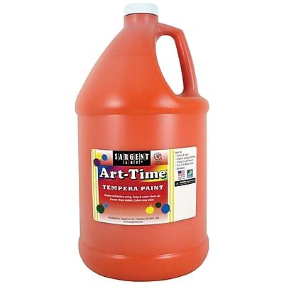 Sargent Art® Art-Time® Gallon Liquid Tempera Paints, Orange