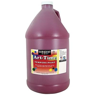 Sargent Art® Art-Time® Gallon Liquid Tempera Paints, Magenta