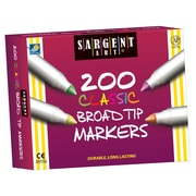 Sargent Art® 200 Classic Broad Tip Markers