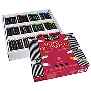 Sargent Art Artist Oil Pastels, Standard Size, 12 Assorted Colors, 432 Count (SAR222011)