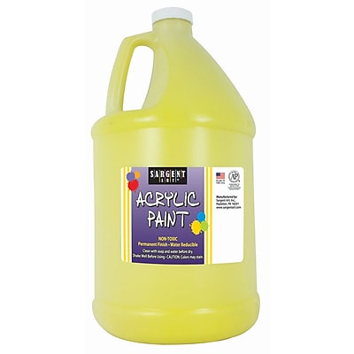 Sargent Art® 64oz. Acrylic Paint, Yellow