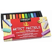 Sargent Art® Chalk Pastels, Assorted, 12/Box