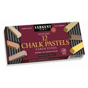 Sargent Art® Artist's Chalk Pastel, Earthtone Colors, Pack of 36 (SAR224113)
