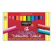 Sargent Art® 12 Piece Drawing Chalk, Assorted (SAR224132)