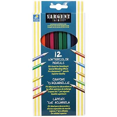 Sargent Art® Watercolor Pencils, 12/Box