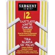 """Sargent Art® Dustless School Chalk, 3-1/4"""", White (SAR662012)"""