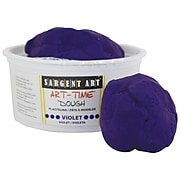 Sargent Art Art-Time Dough, Violet, 1 lb. (SAR853142)