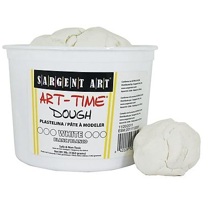Sargent Art® Art Time® Dough, White, 3lb.