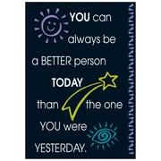 Trend® Educational Classroom Posters, You can always be a better person…