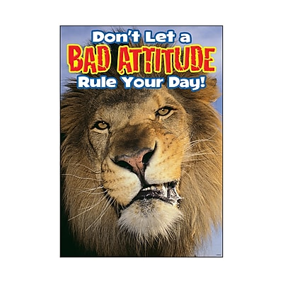 Trend ARGUS Poster, Don't let a bad attitude rule your day!