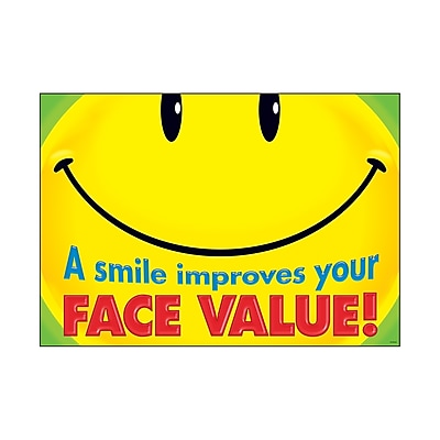 Trend ARGUS Poster, A smile improves your face value