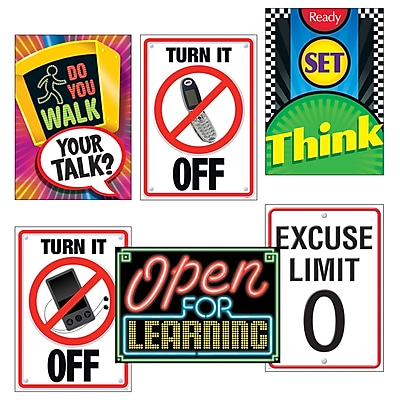 Posters - Large Poster Sets, Learning Signs