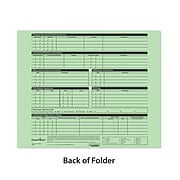 ComplyRight™ Green Personnel Pocket File Folder, Pack of 25 (A0778)