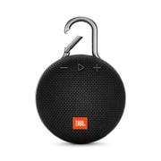 JBL Clip 3 Portable Bluetooth Speaker, Black (JBLCLIP3BLK)