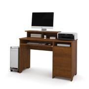 Bestar Legend Computer Desk, Tuscany Brown