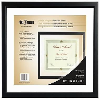 St. James® Awards & Certificate Floating Frame, 12 x 15\