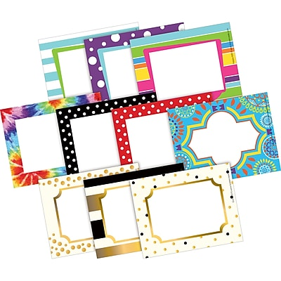 Barker Creek, Name Tags/Labels Curated Collection 3 1/2