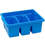 Copernicus Educational Products Leveled Reading Large Divided Book Tubs, Blue (CEPCC4069B)