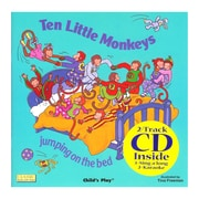 Childs Play® Ten Little Monkeys Book with CD (PY9781904550679)