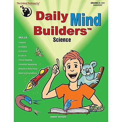 Daily Mind Builders™, Science, Grades 5-12+