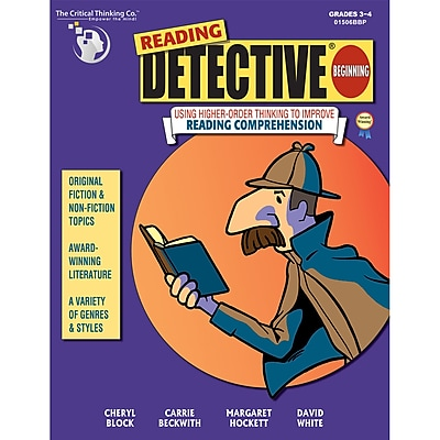 Reading Detective, Beginning, Grades 3-4