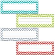Creative Teaching Press® All Grade Solids Name Plate, Chevron, 36/Pack