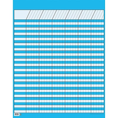 Creative Teaching Press™ Incentive Charts, Large Vertical, Blue